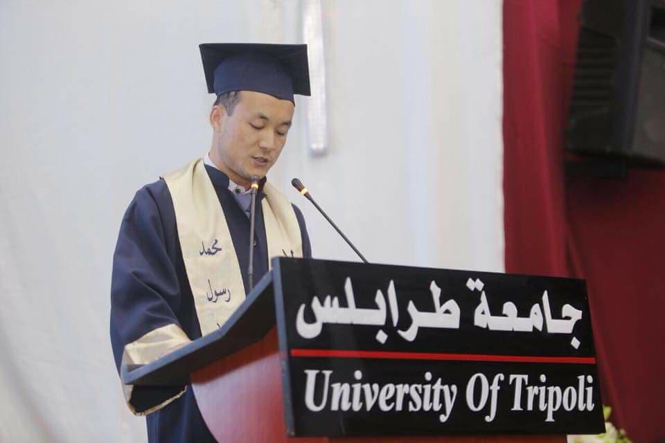 جامعة طرابلس تحتفل بتخريج الدفعة التاسعة والعشرين من طلابها (10/11)
