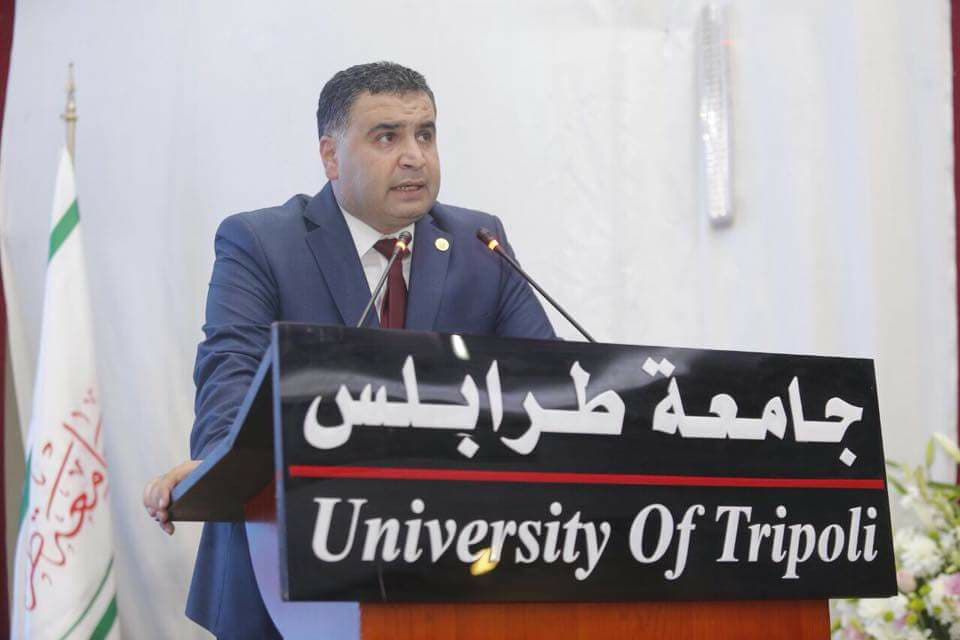جامعة طرابلس تحتفل بتخريج الدفعة التاسعة والعشرين من طلابها (7/11)