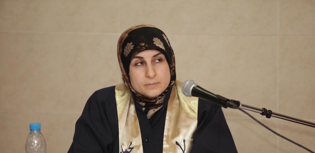 مناقشة رسالة ماجيستير الطالبة هناء محمد الراعي (1/2)