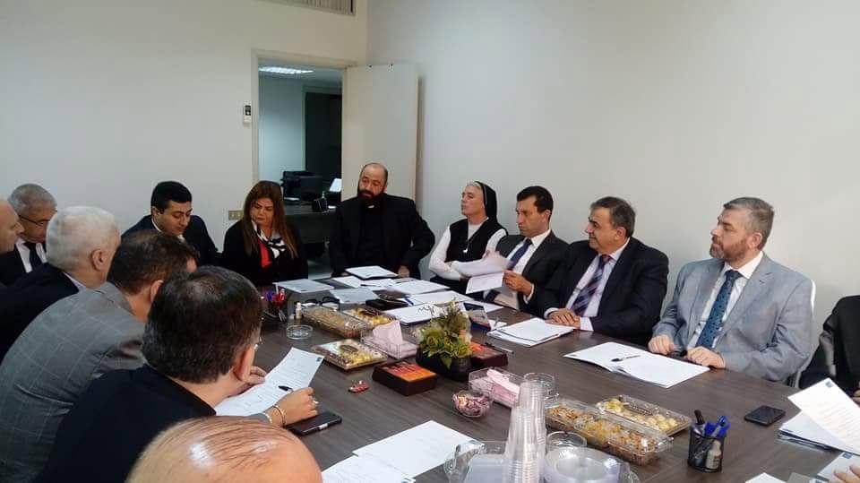 اجتماع رابطة جامعات لبنان بمشاركة رئيس جامعة طرابلس (1/2)