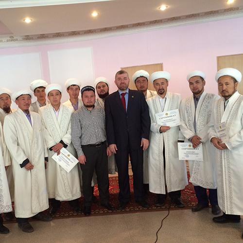 نائب رئيس جامعة طرابلس في زيارته الى كازخستان (1/2)