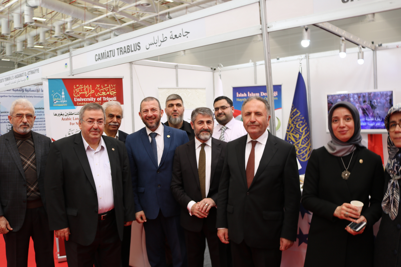 مشاركة جامعة طرابلس في معرض الجامعات - تركيا (2/4)