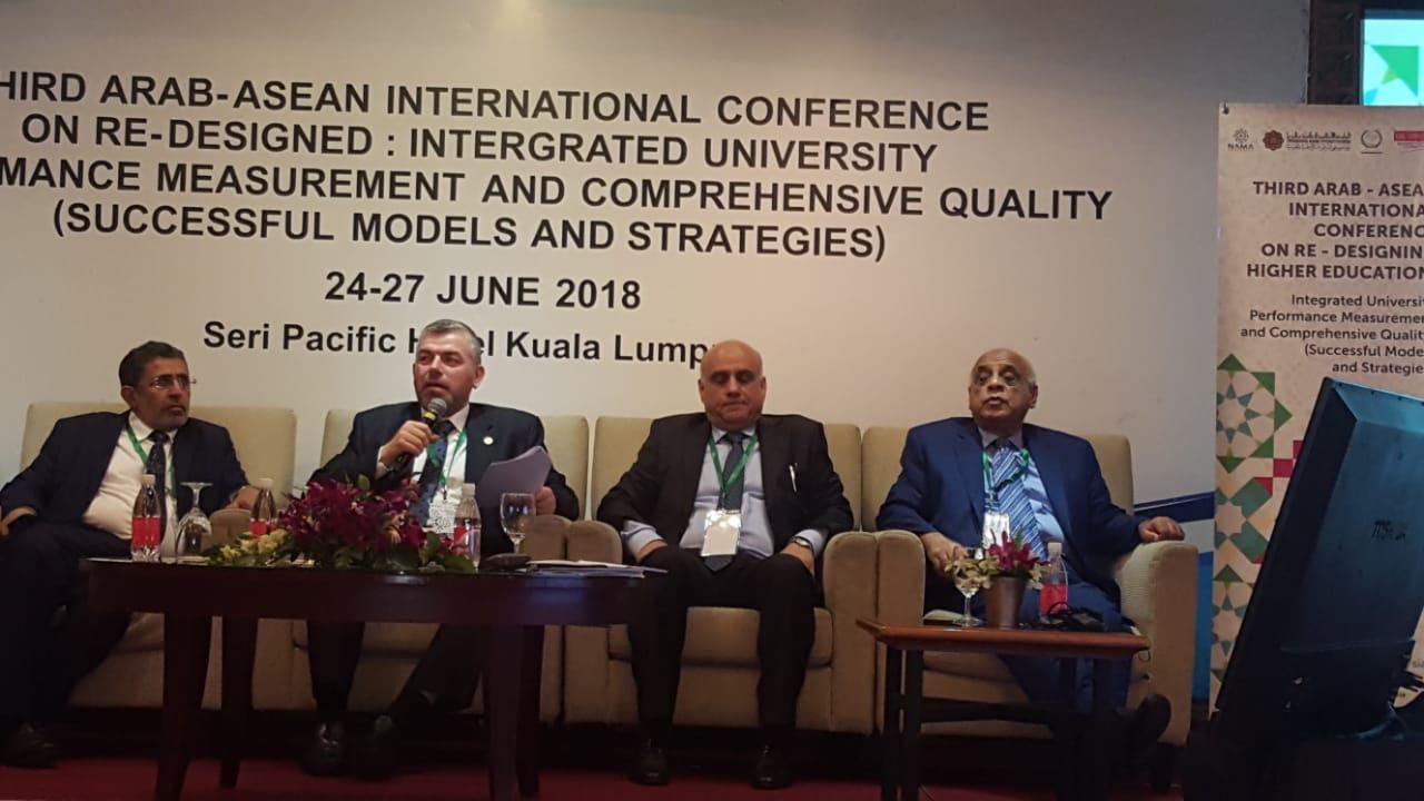 جامعة طرابلس تشارك في المؤتمر الدولي العربي الآسياني الثالث في ماليزيا (4/8)