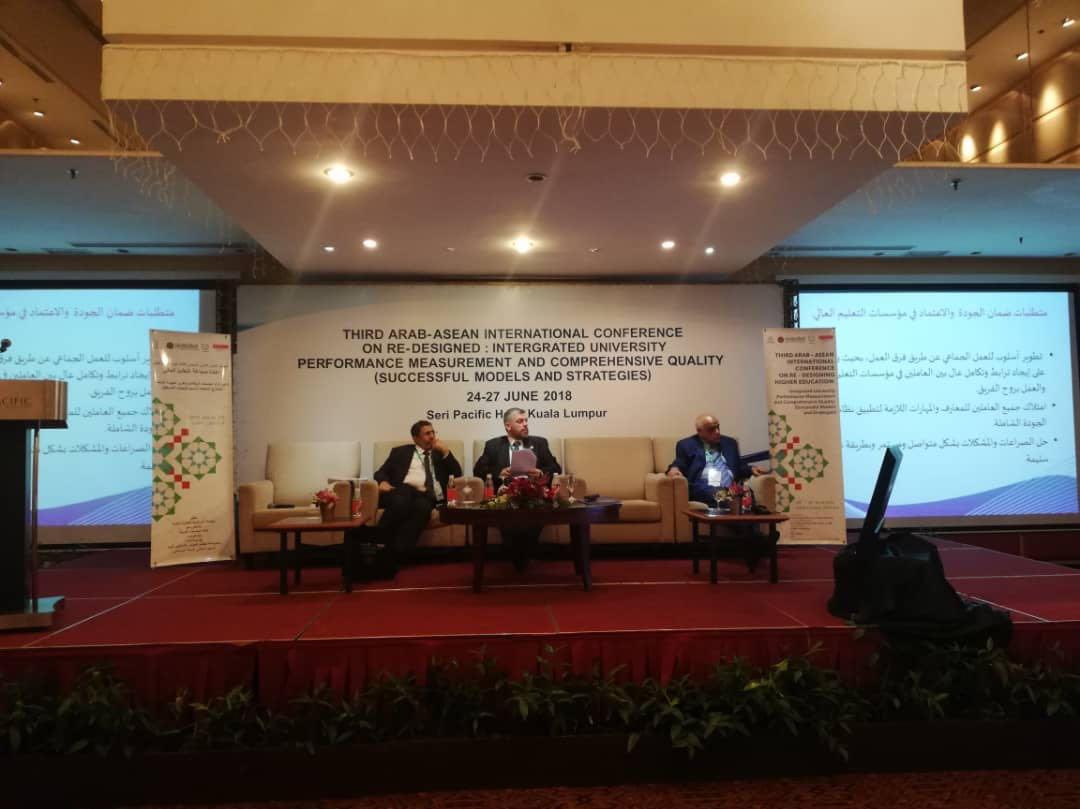 جامعة طرابلس تشارك في المؤتمر الدولي العربي الآسياني الثالث في ماليزيا (5/8)